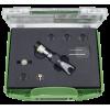 Гидравлический гайкорез с приводом от насоса, в чемодане